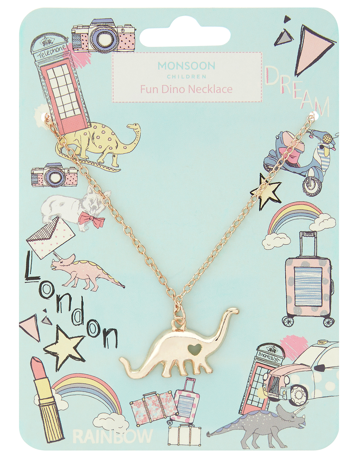 Monsoon Fun Dino Necklace