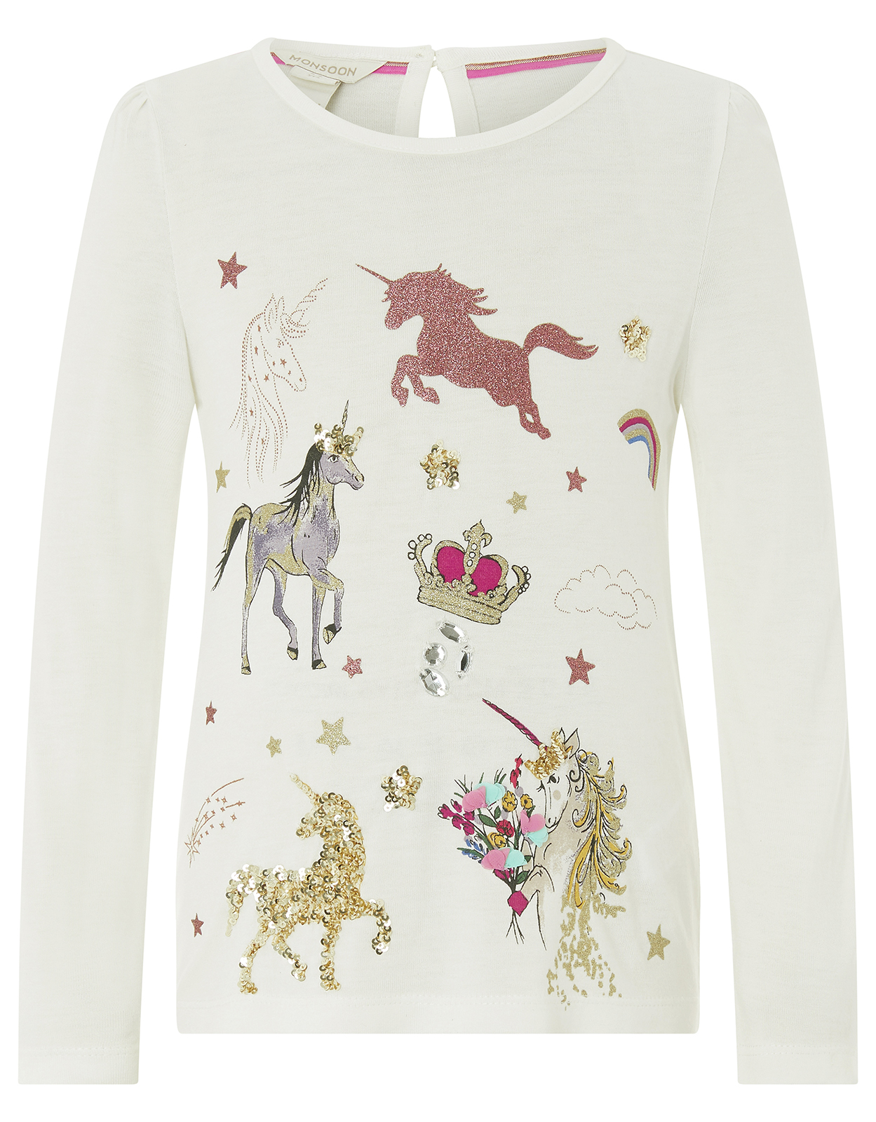 Monsoon Evie Unicorn Top
