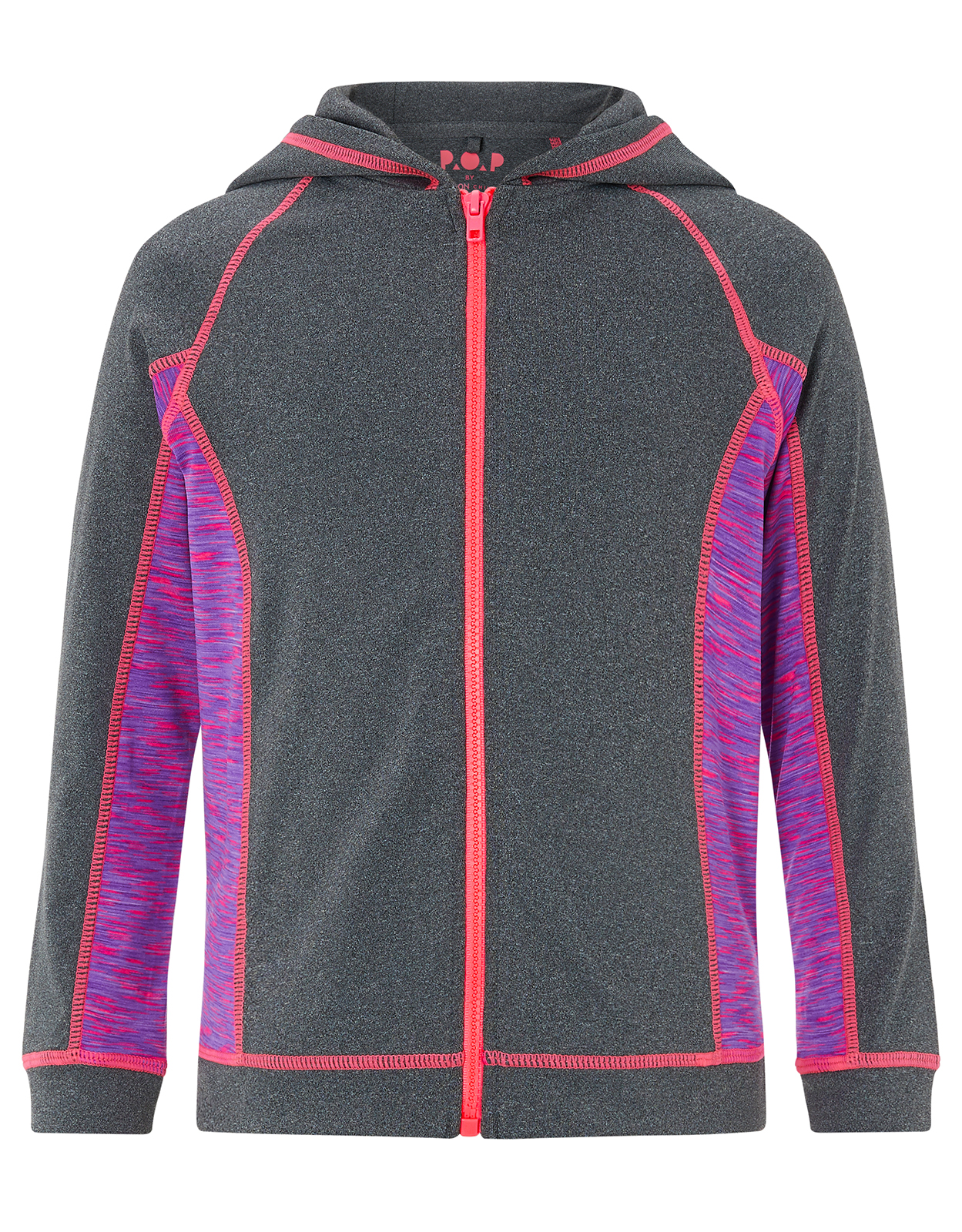 Monsoon Callie Hooded Zip Top