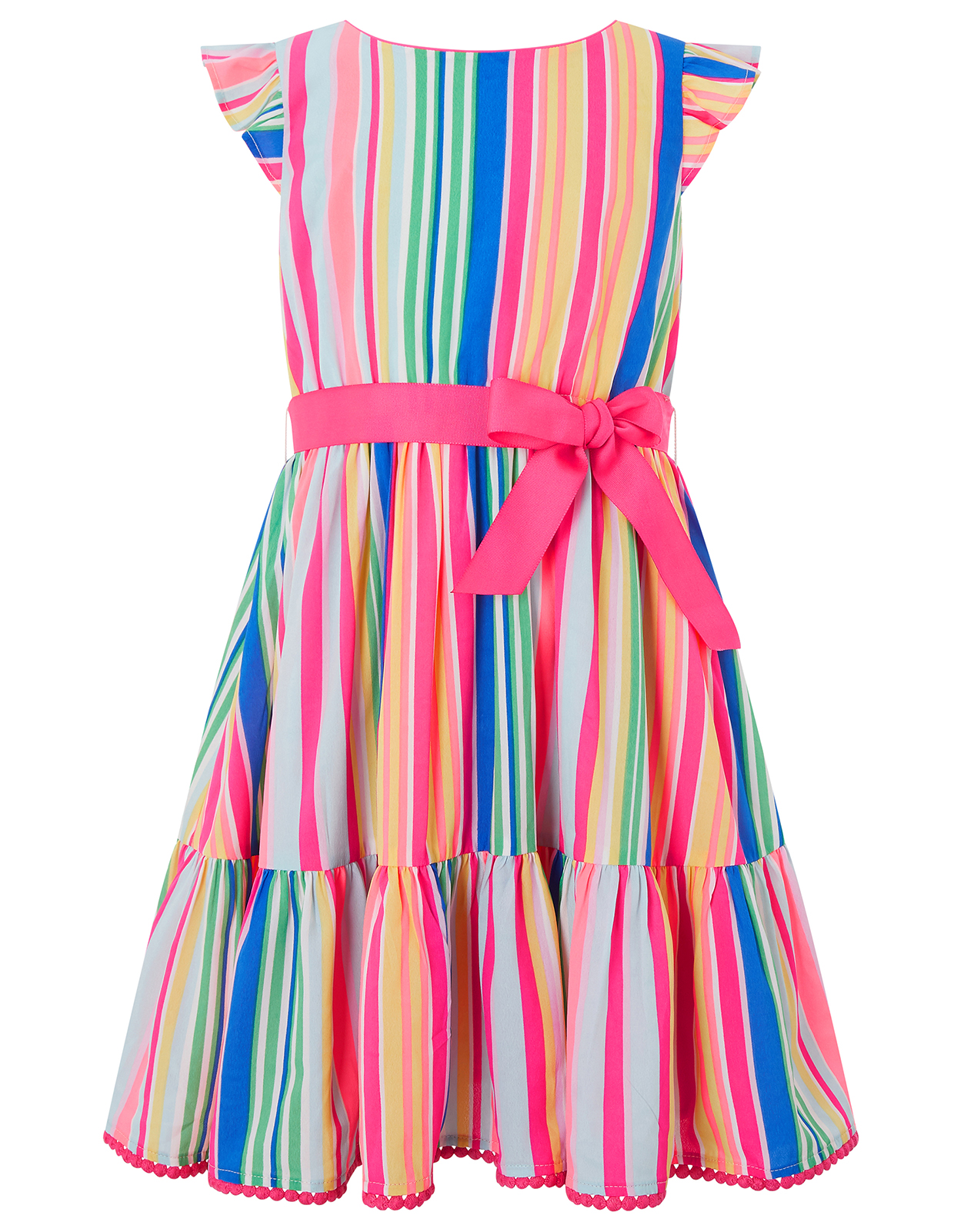 Monsoon Sakira Stripe Dress