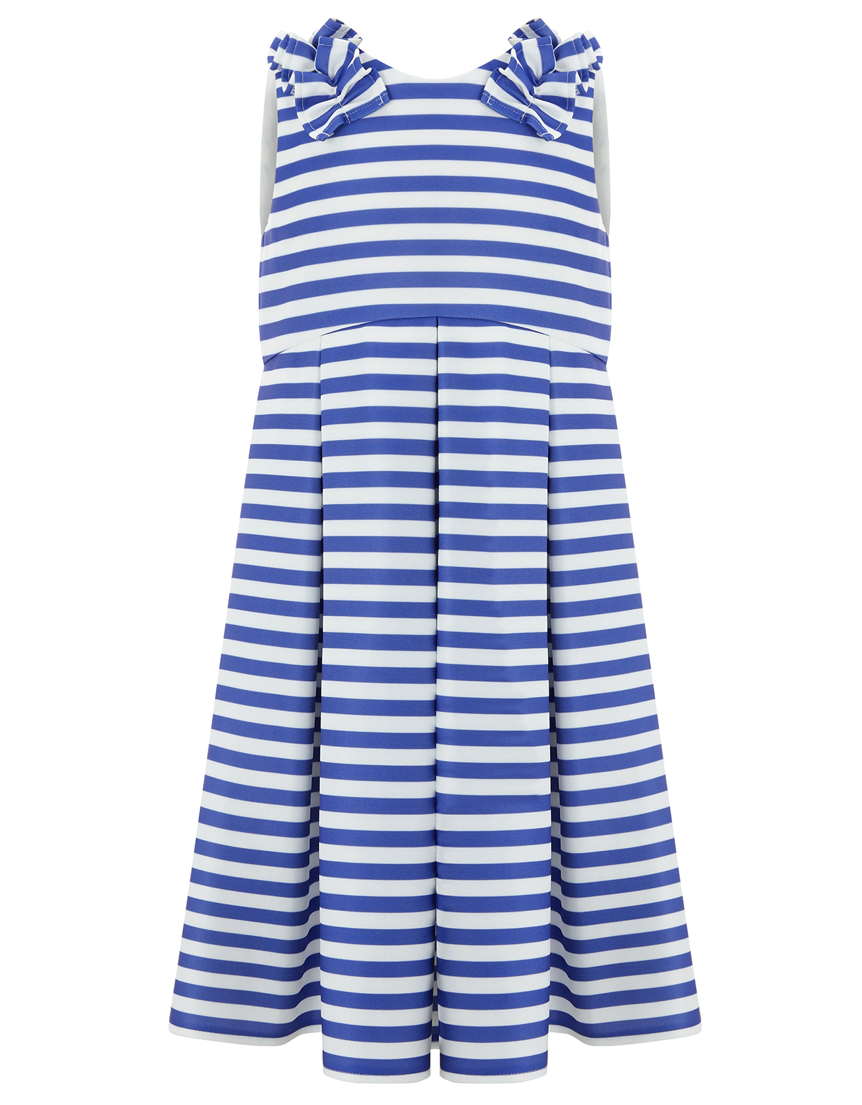 Monsoon Royal Stripe Dress