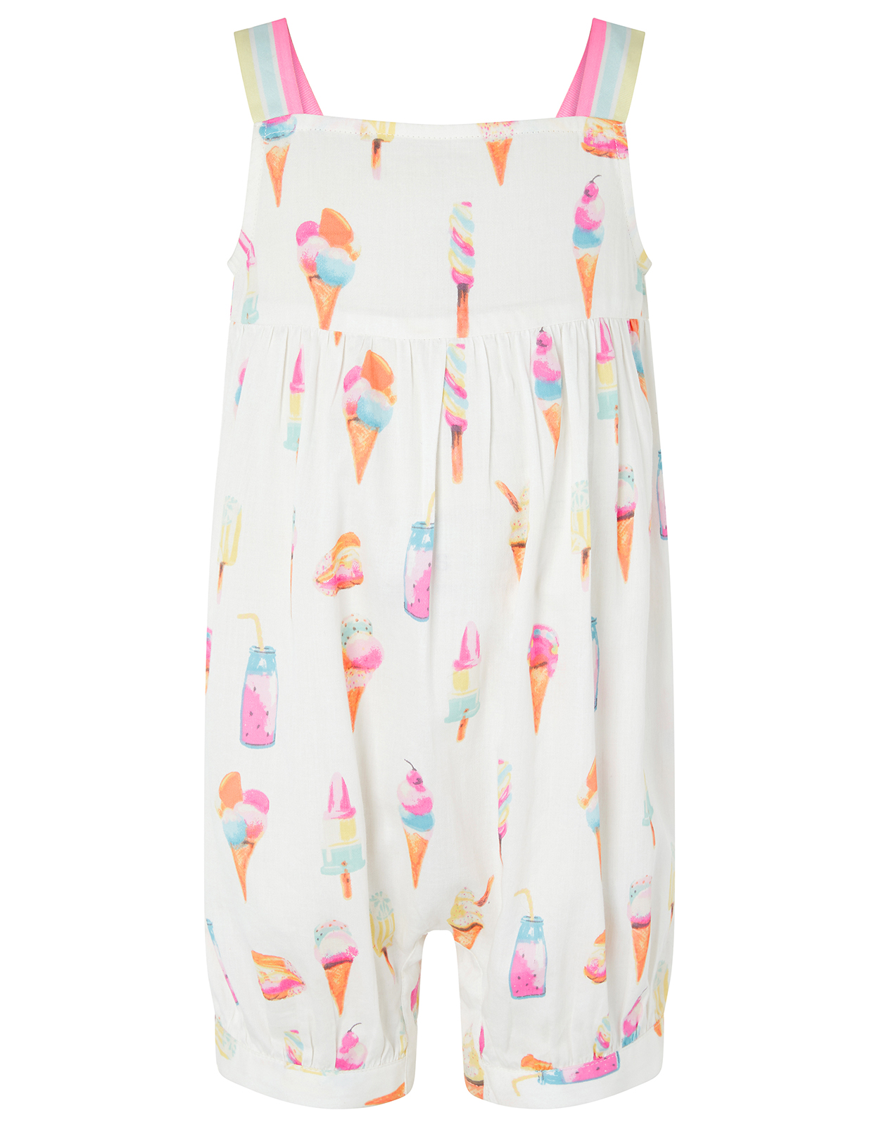 Monsoon Baby Vera Ice Lolly Playsuit