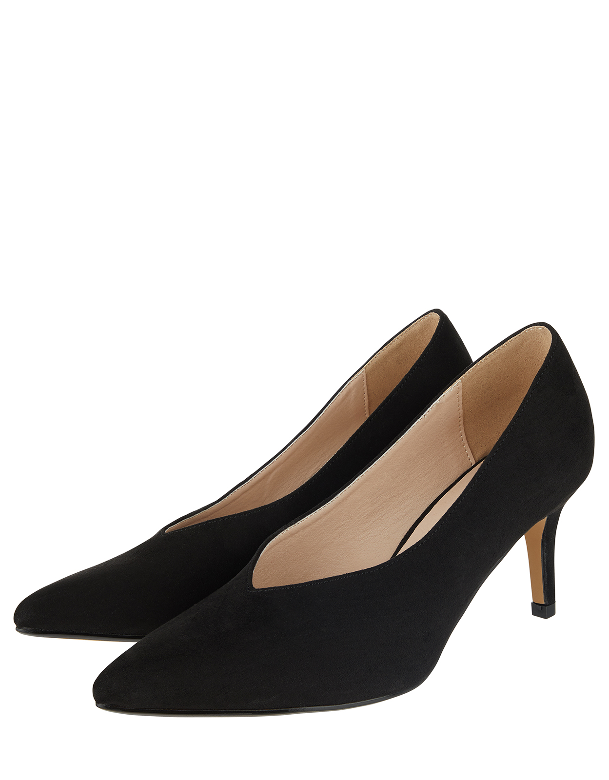 Monsoon Heidi High Vamp Court Shoes