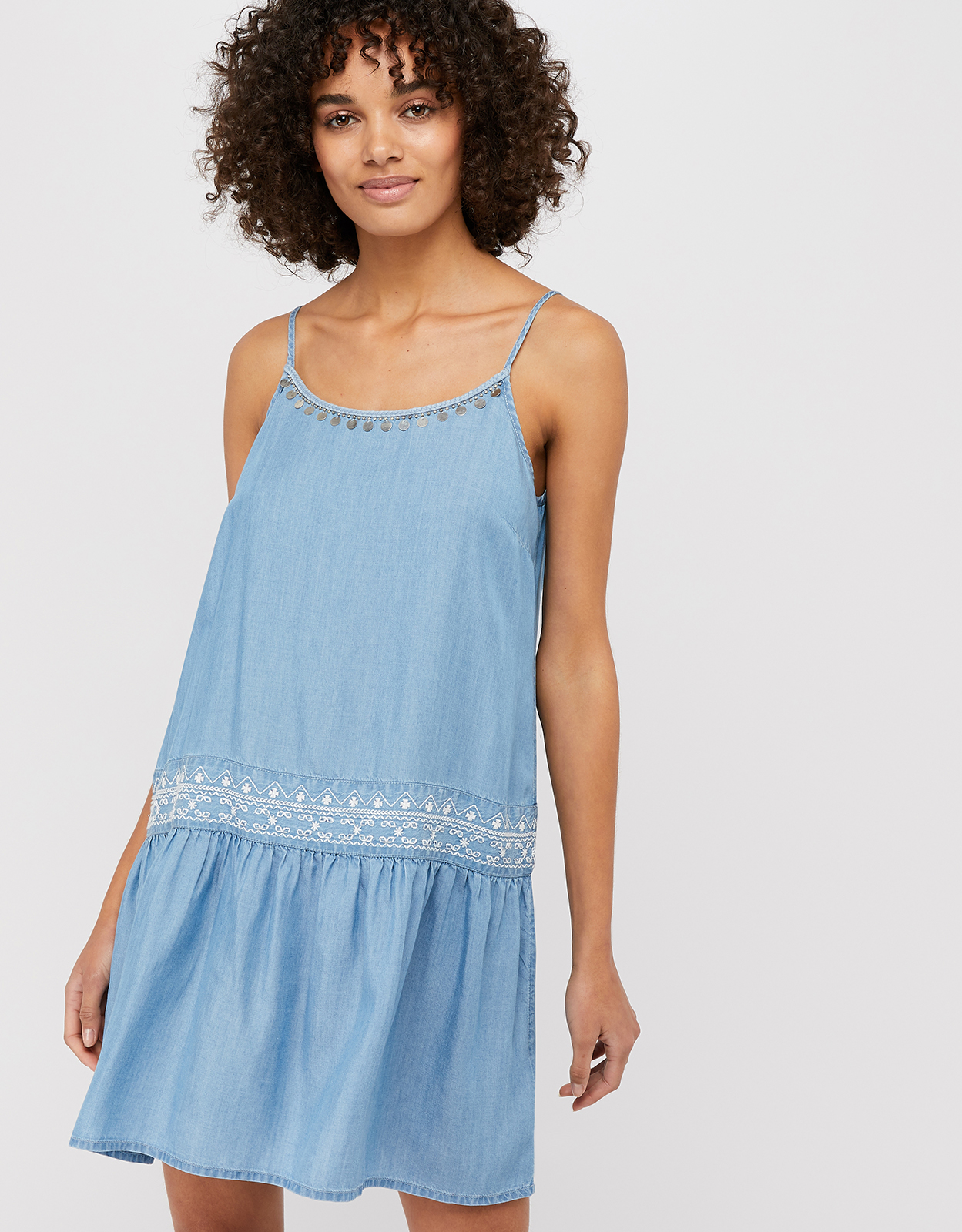 Monsoon Peri Lyocell Sundress