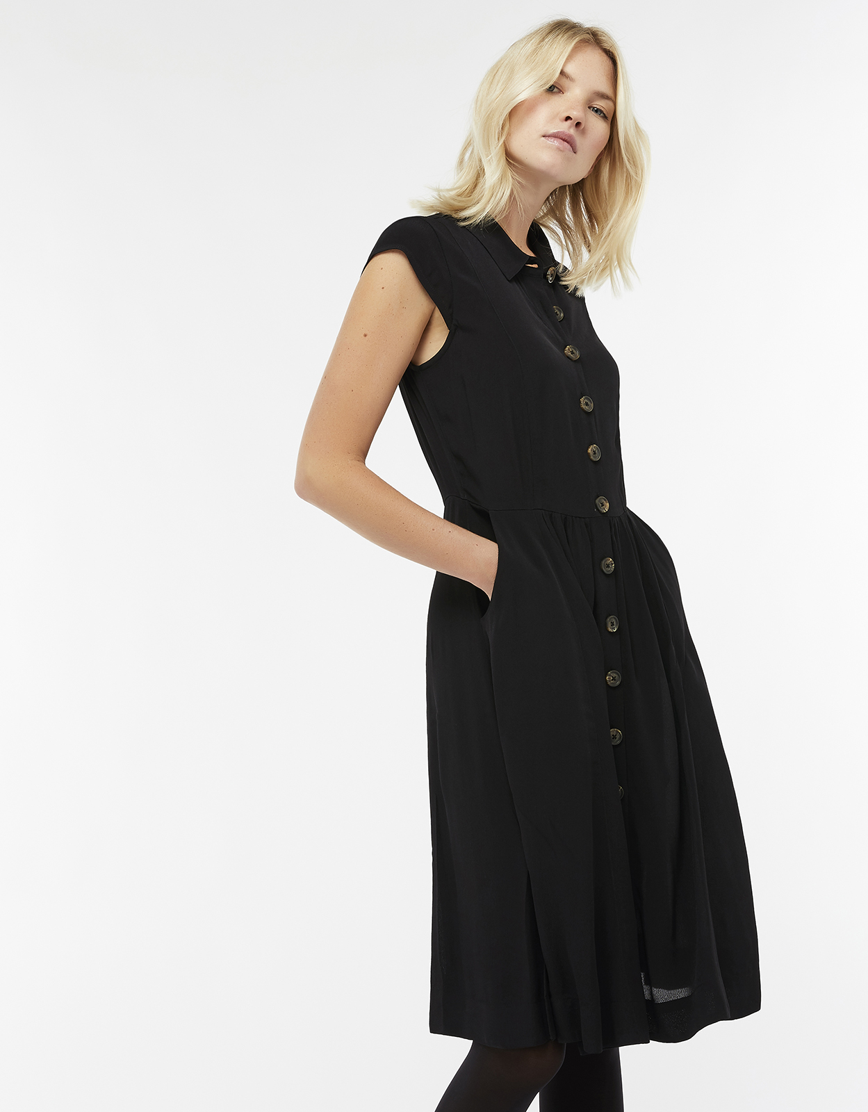 Monsoon Fine Shirt Dress
