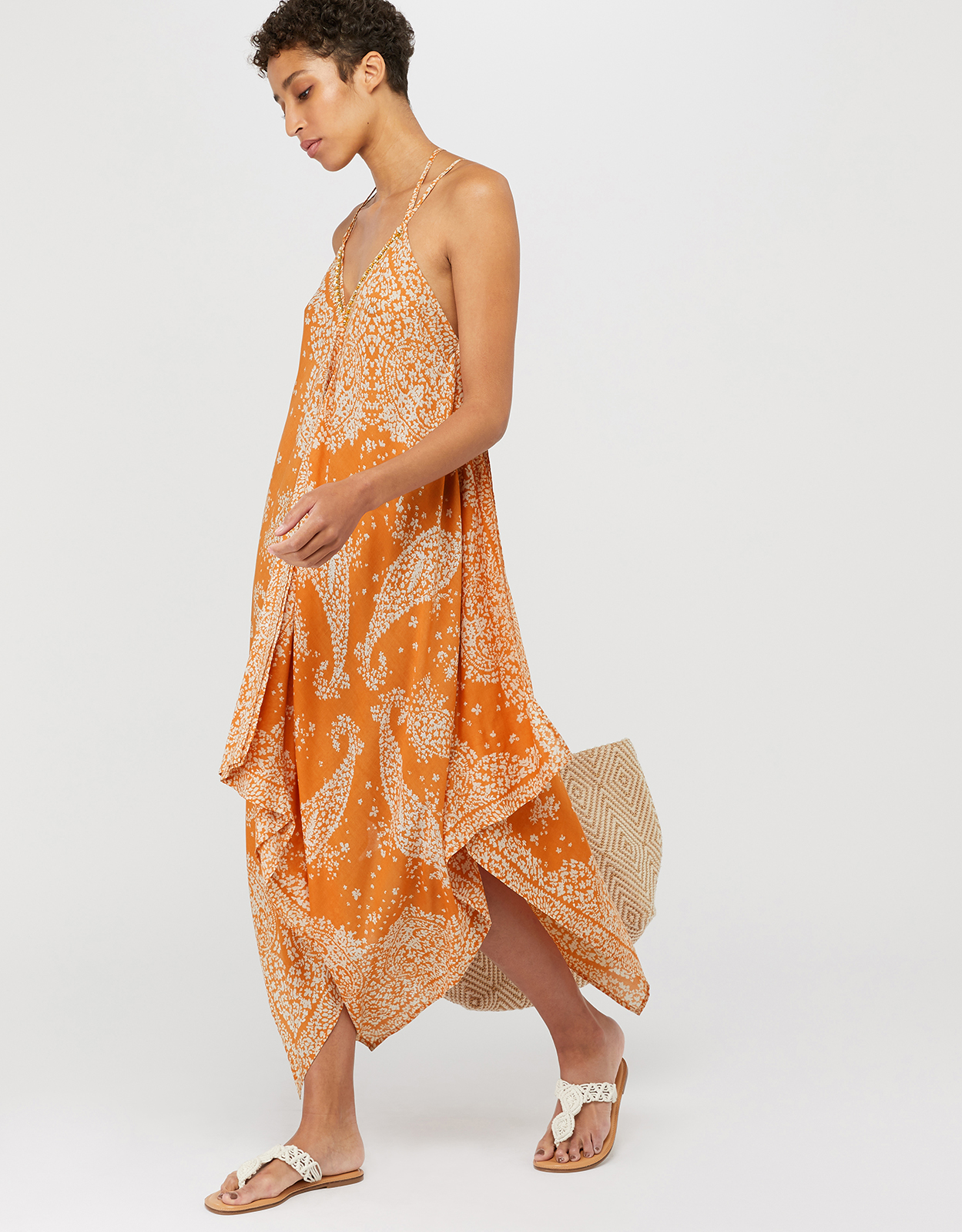 Monsoon Madison Hanky Hem Dress