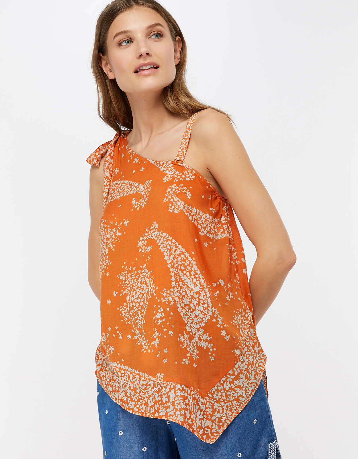 Monsoon Madison One Shoulder Top